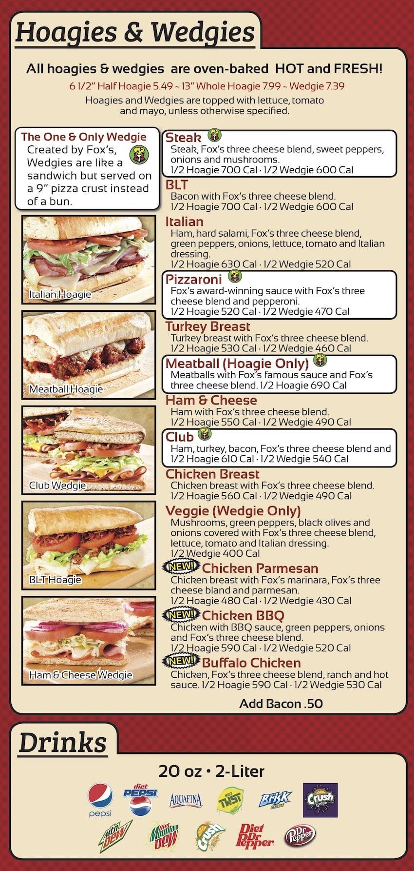 Hoagies & Wedgie Sandwiches